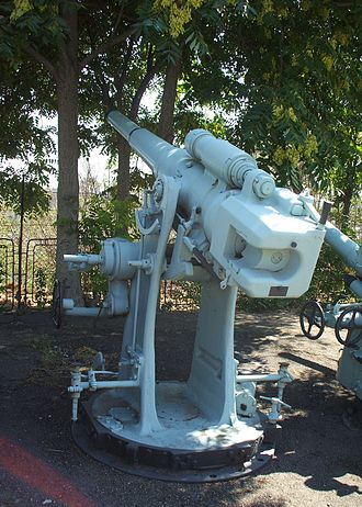 Deck gun - Image: 102 mm Bofors naval gun