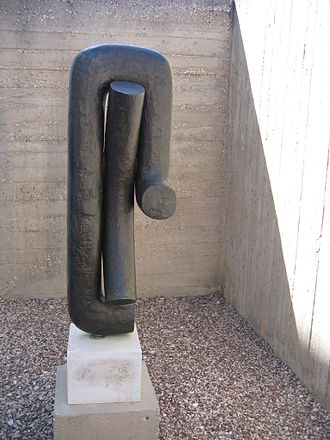 Isamu Noguchi - Heimar, 1968, at the Billy Rose Sculpture Garden, Israel Museum, Jerusalem, Israel
