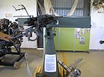A finnish twin anti-aircraft machine gun 12,7 TorKK 42 VKT. Built in early 1950s using surplus 12,7 LKk/42 VKT aircraft machine guns (a Finnish World War 2 copy of M2 Browning machine gun) to create a close defence weapon for air fields. Used actively for a short period in 1950s, then placed in storage until discarded in early 1990s.