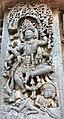 12th-century Nataraja at Shaivism Hindu temple Hoysaleswara arts Halebidu Karnataka India.jpg