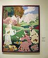 138 Tres dones collint fruita, de Gaspar Homar.jpg