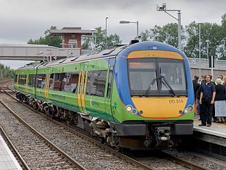 Coleshill, Warwickshire - 170514 stands at Coleshill Parkway