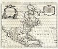 1708 De L'Isle Map of North America (Covens and Mortier ed.) - Geographicus - AmeriqueSeptentrionale-covensmortier-1708.jpg