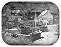 1850 Porstrein au pied des remparts de Brest.jpg