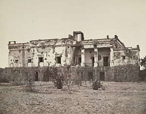 Raja Hindu Rao - Hindu Rao's house in Delhi, was extensively damaged in the fighting in the Revolt of 1857