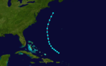 1860 Atlantic tropical storm 5 track.png