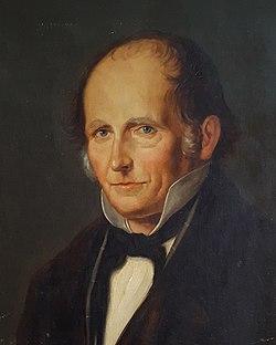 1860er Jahre circa unbekannter Maler, Ölgemälde Porträt Adolf Diesterweg.jpg