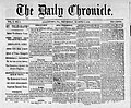 1870 - The Daily Chronicle - 8 Mar Vol1 No1 - Allentown PA.jpg