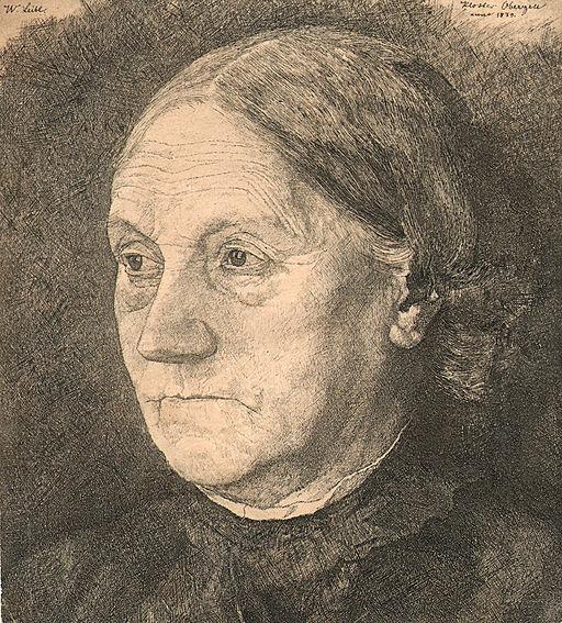 Leibl Wilhelm. Gertrud Leibl