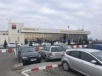 Timișoara Traian Vuia International Airport - Timișoara International Airport international terminal