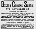1903 BostonCookingSchool BoylstonSt BostonEveningTranscript Feb21.png