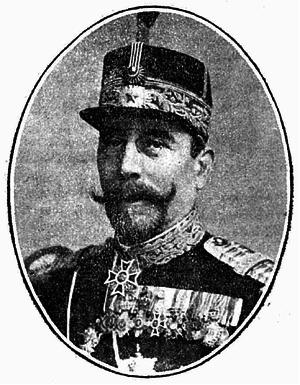 Grigore C. Crăiniceanu - Crăiniceanu as War Minister in 1910