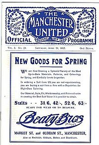 1915 FA Cup Final programme.jpg