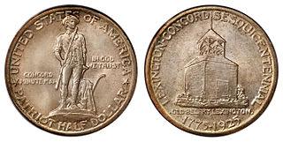 Lexington-Concord Sesquicentennial half dollar