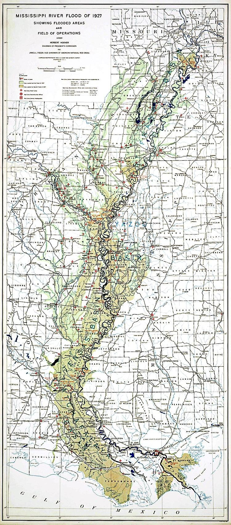 MIssissippi River Flood of 1927
