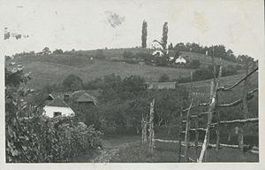 Kovača Vas, Slovenska Bistrica - 1929 postcard of Kovača Vas
