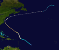 1936 Atlantic hurricane 13 track.png