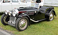 1938 Morgan 4-4 Le Mans Replica four-seater, front.jpg