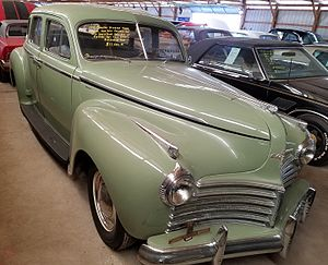 Chrysler Windsor - 1941 Chrysler Windsor 4-door sedan