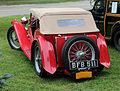 1949 MG TC rear, top up.jpg