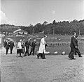 1957 Visite du ministre de l'agriculture Mr ANDRE DULIN au CNRZ-40-cliche Jean Joseph Weber.jpg