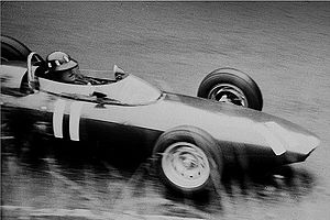 British Racing Motors - Graham Hill with BRM 1962 at the Nürburgring