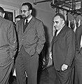 1963 Visite de Mrs Georges Pompidou et Edgard Pisani au CNRZ-1-cliche Jean Joseph Weber.jpg
