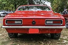 1967 Chevrolet Camaro Heck