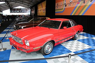 Ford Mustang (second generation) - 1975–1978 Mustang II Ghia