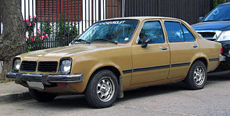 Chevrolet Chevette - Brazilian-built Chevette SL sedan, 1981