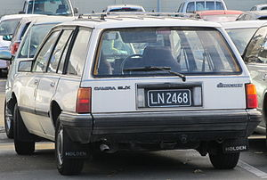 Holden Camira - JB Camira SL/X wagon (New Zealand)