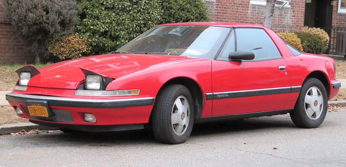 Buick Reatta – Wikipédia, a enciclopédia livre