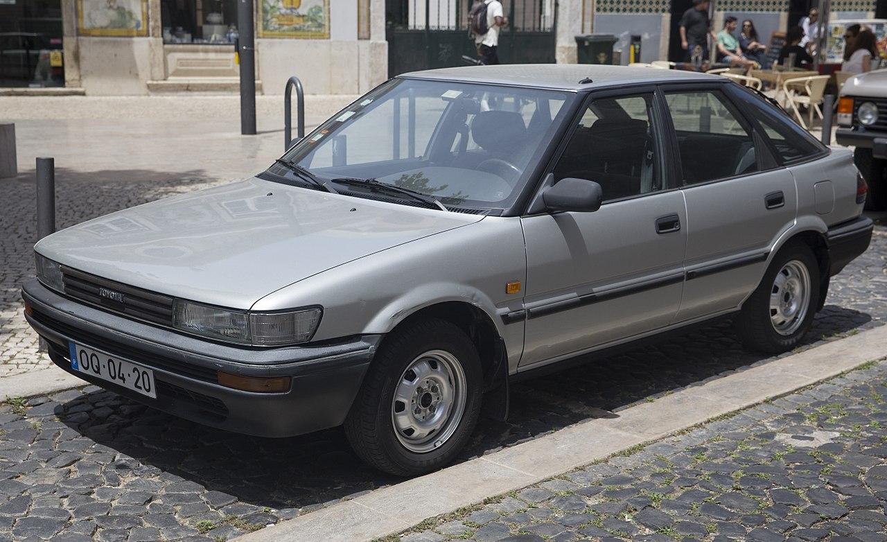 Px Toyota Corolla Gl Liftback Ee C Front Left on 1991 Toyota Tercel Hatchback