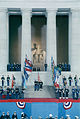 1989 Presidential Inauguration, George H. W. Bush, Opening Ceremonies, at Lincoln Memorial 2.jpg
