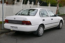 Seventh Generation Toyota Corolla