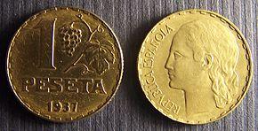 Peseta Wikipedia La Enciclopedia Libre