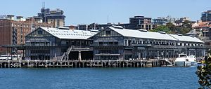 Pyrmont, New South Wales - Pyrmont Wharves