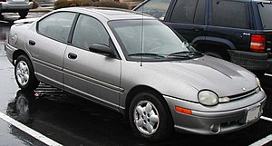 Chrysler Neon - 1994-99 Dodge Neon sedan (US)