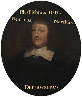 Henry Pierrepont, 1st Marquess of Dorchester 17th-century English peer, Fellow of the Royal Society