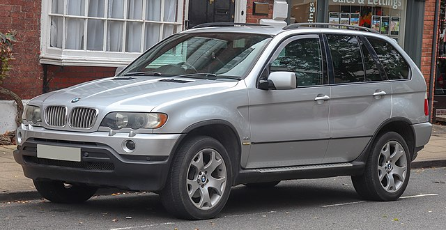 2002 BMW X5 Sport Automatic 4.4 Front