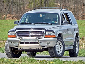 Dodge Durango - A lightly modified 2003 Dodge Durango SLT, equipped with the optional 5.9L V8. PS2 Bright Silver Metallic paint.