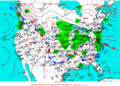 2004-01-26 Surface Weather Map NOAA.png