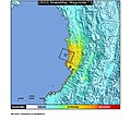 2004 Bajo Baudó earthquake ShakeMap.jpg