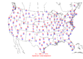 2006-02-17 Max-min Temperature Map NOAA.png