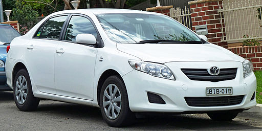 2007-2010 Toyota Corolla (ZRE152R) Ascent sedan (2011-04-02)