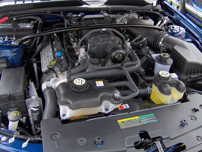 File 2007 Ford Shelby Gt500 Engine Jpg Wikimedia Commons