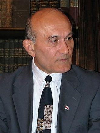 Politics of Belarus - Zianon Pazniak