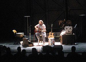 Into the Wild (soundtrack) - Eddie Vedder performing live at the Auditorium Theatre in Chicago, Illinois on August 21, 2008.