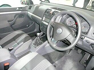 Volkswagen Golf Mk5 - Interior
