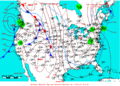 2009-03-03 Surface Weather Map NOAA.png